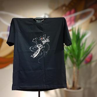 Camiseta Anatema Preta estampa Branca