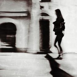 half a woman, half a shadow