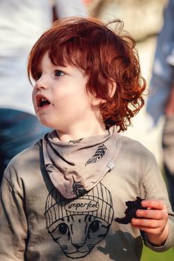 a gorgeous redhead...