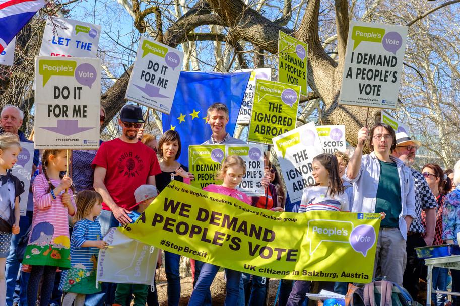we demand a people's vote