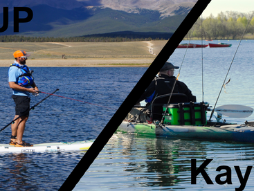 Which is better Kayak or SUP Fishing? Can't decide what to buy, check out this comparison.