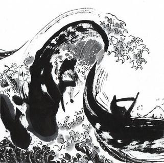 『神奈川沖浪裏』ー濤