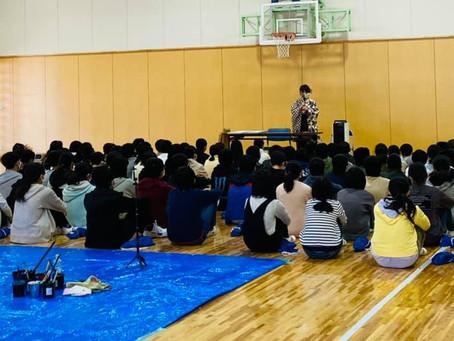 11/25 学校訪問4校目 穂波東小学校6年生