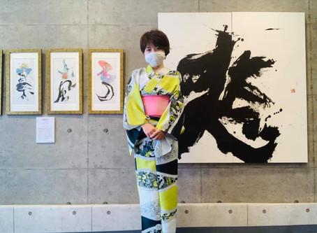 9/8 台風一過の個展最終日