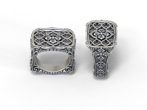 Gothic templar ring