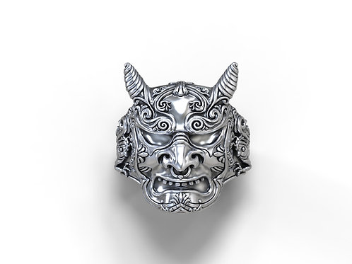 Hannya Demon Ring
