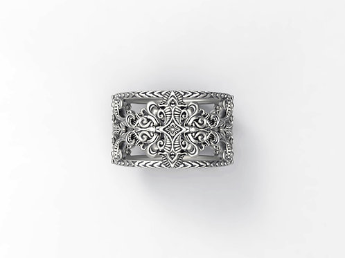 Baroque Filligree Ring
