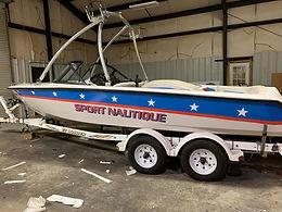 Sport Nautique Custom Boat Vinyl