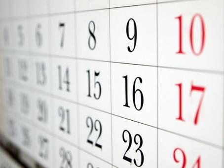 Calendário Oficial 2014