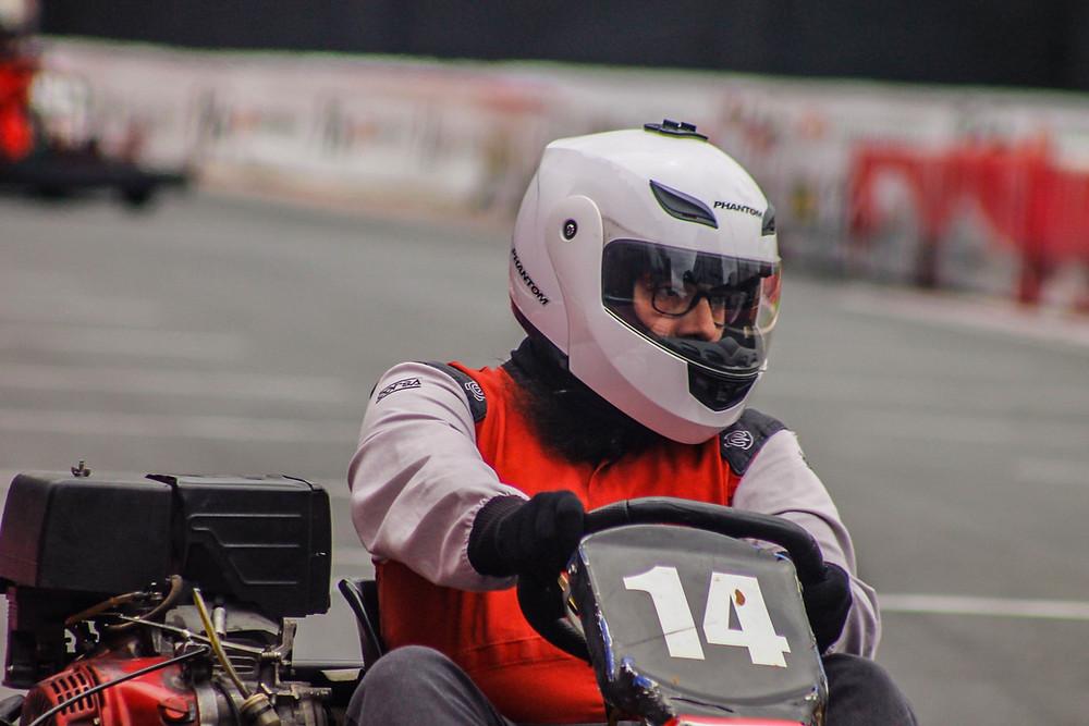 Rena Lombardero (M2R) luta contra seu próprio volante! PKL-E08 T-2016