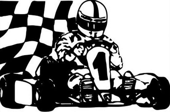 Primeira logomarca da Paulista Kart League criada por Ricardo Garcia. PKL Paulista Kart League