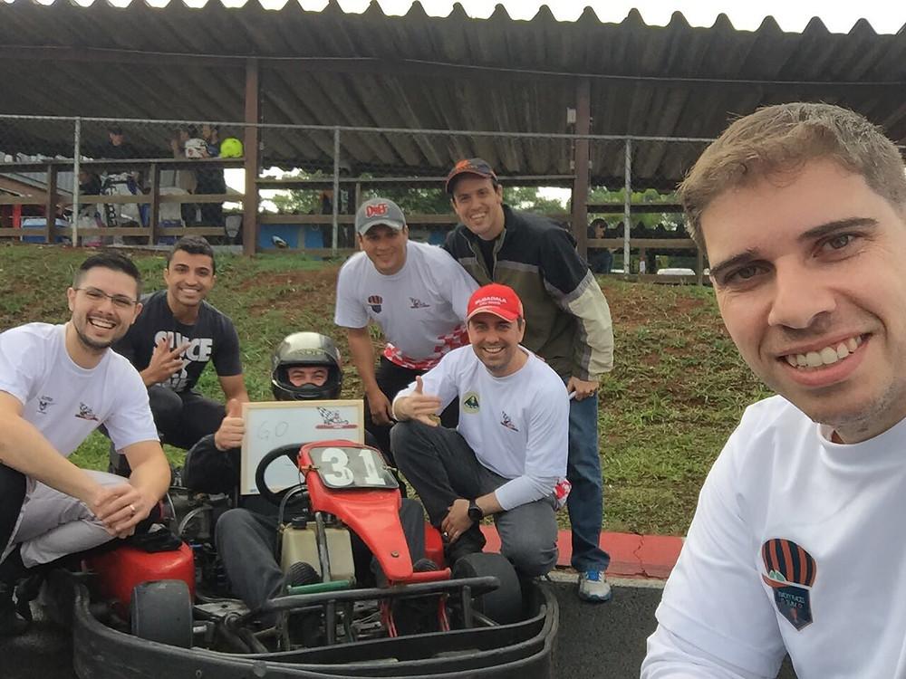 Equipe PKL I para o Endurance 6 horas da KGV. Paulista Kart League PKL.