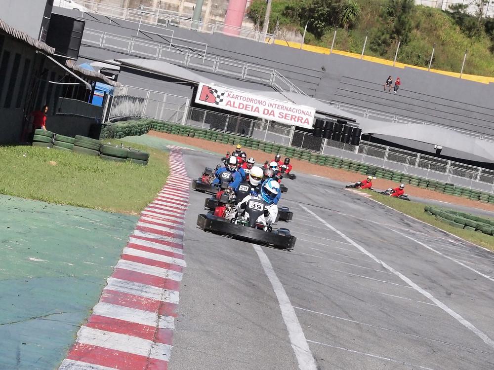 A terceira etapa da PKL de 2015 no Kartódromo Aldeia da Serra. PKL Paulista Kart League