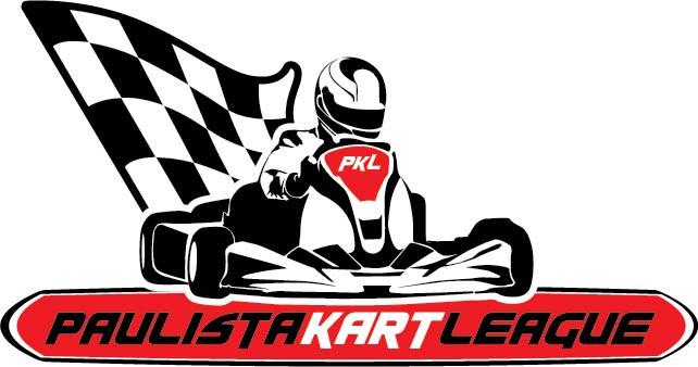 Nova logomarca da Paulista Kart League criada pela agência Triunfo por Thania Lino. PKL Paulista Kart League