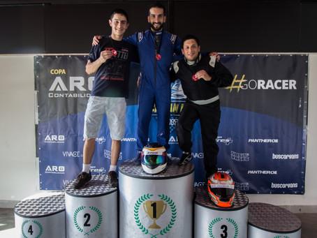 Três corridas, três vencedores e três líderes!