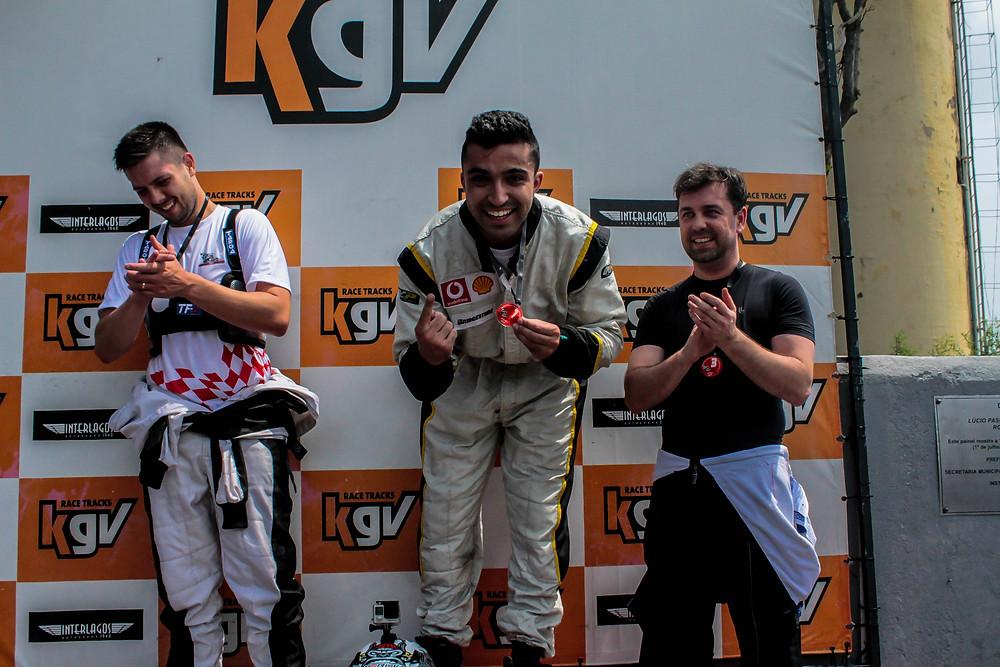 Wesley Sandes (RWT), primeira corrida, primeira vitória. PKL_E01 T-2017 Paulista Kart League PKL