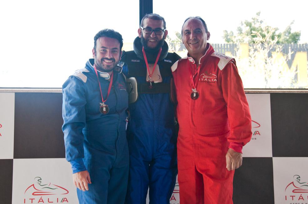 Filipe Fernandes (VHR) P02; André Medeiros (RBR) P01; Silvério Reis (HOT) P03. PKL-E04 T-2016.
