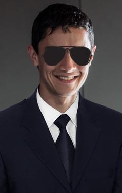Nicolas - Agent Smith - Santana (FRT), após um dia de trabalho na Matrix. Paulista Kart League PKL