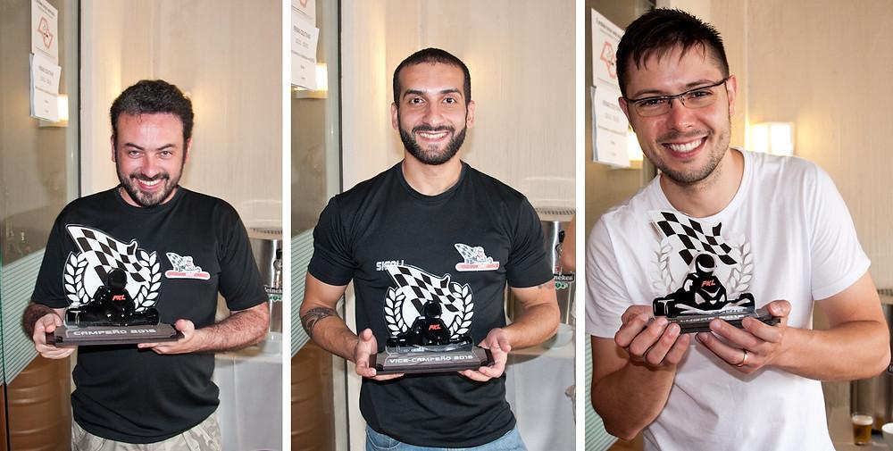 Triunvirato. Filipe Fernandes; Henrique Sigoli; Bruno Ratão. Festa de Confraternização PKL-E09 T-2016