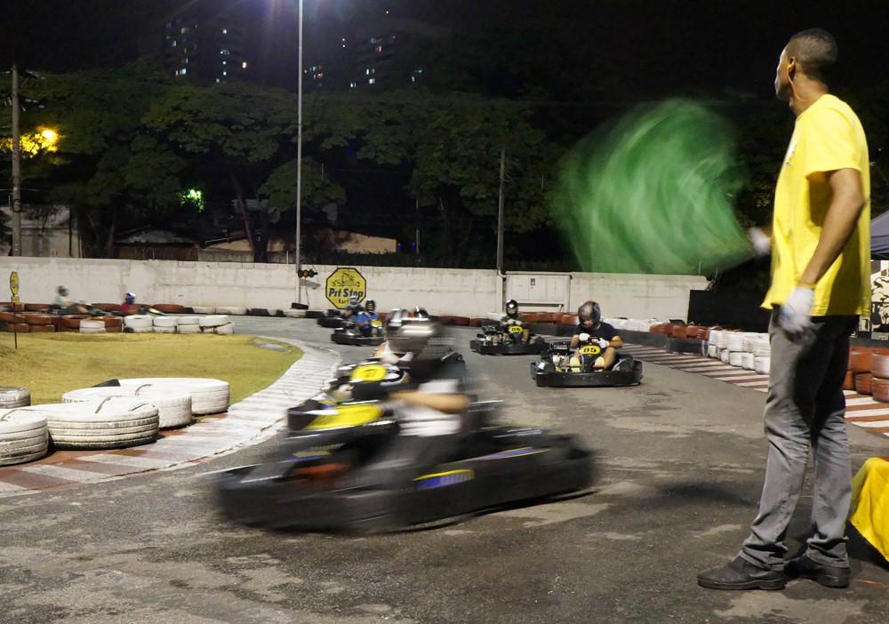 Corrida de confraternização de 2014. Era 6,5 Hp, mas foi legal. PKL Paulista Kart League