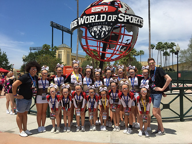 Fearless Athletics Cheer