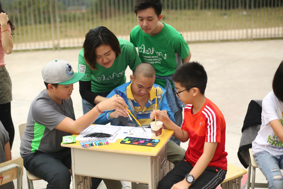 Flying High With The Kids At The Yangshuo Special Education School