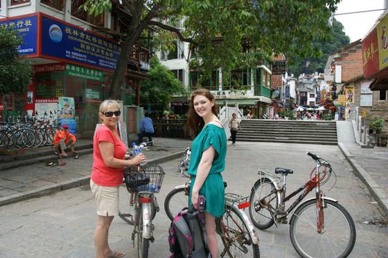 Mum Comes To CHina