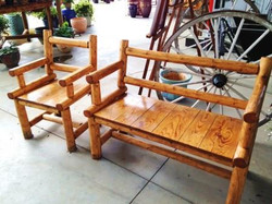 Mortis and Tenon Lodgepole Furniture