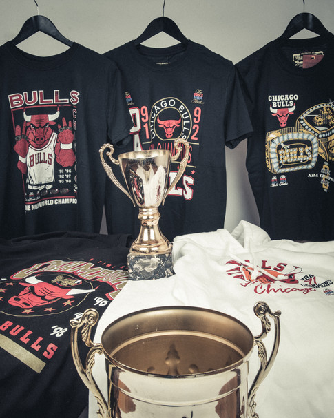 Mitchell&Ness Bulls champions collection