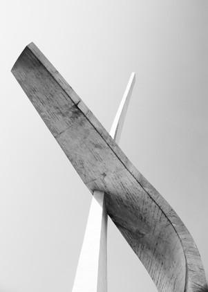 Detail van de Spomenik van Podgora