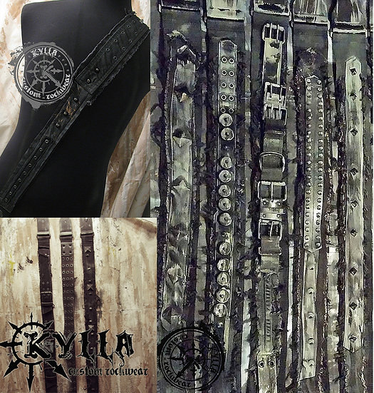 Custom Guitar Strap - MADE TO ORDER - Please allow approximately 8 weeks