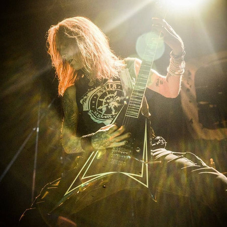 Alexi Laiho of Children of Bodom in Kylla