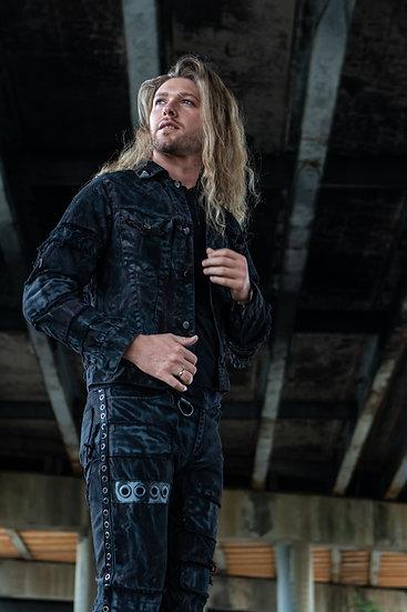 IMMORTAN Distressed Denim Jacket - Men's sizes S-2XL