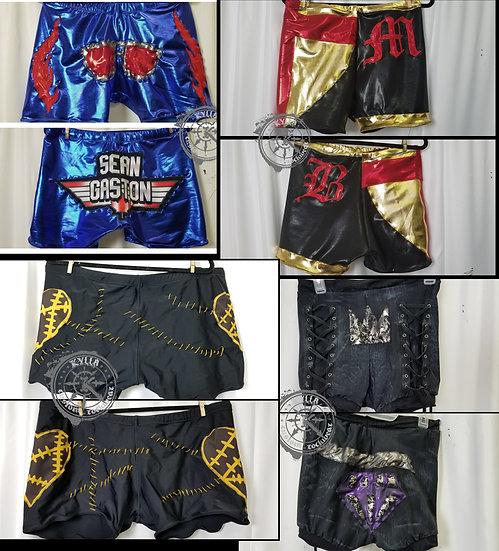 Custom Pro Wrestling Gear - Biker Trunks - MADE TO ORDER (allow 3 months)