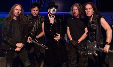 King Diamond band in Kylla