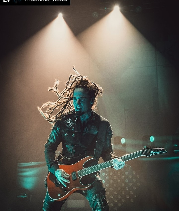 Logan Mader of Machine Head in Kylla