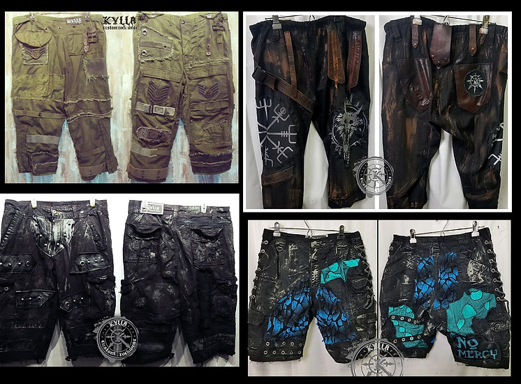 Custom Shorts for Pro Wrestling or Stage (Allow 2-3 months)