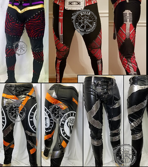 Custom Pro Wrestling Gear - Spandex Tights - MADE TO ORDER (allow 3 months))