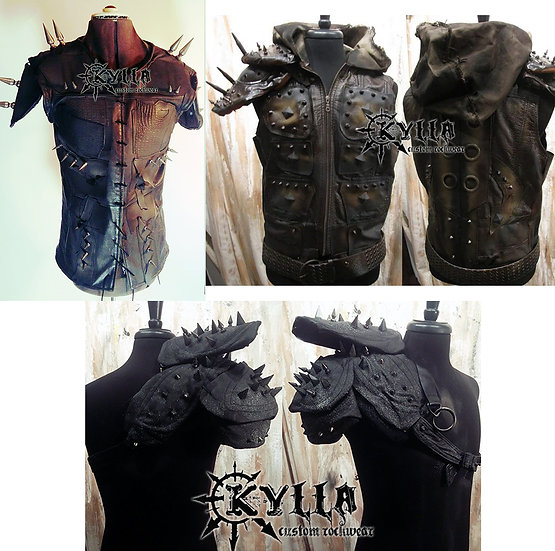 Custom Stage Armor - MADE TO ORDER (please allow approx 2-3 months)