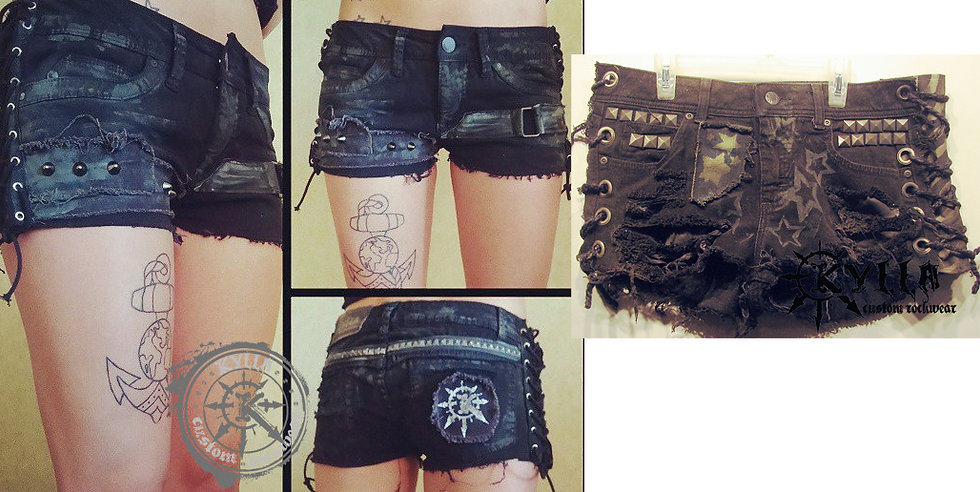Custom Women's Shorts - MADE TO ORDER (please allow approx 8 weeks)