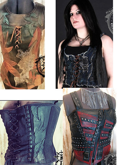 Custom Bustier Corset Top - MADE TO ORDER (please allow approx 2-3 months)