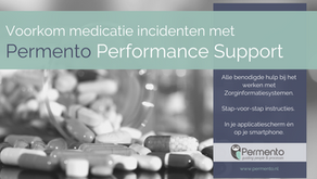 Medicatie-incidenten voorkomen met Performance Support