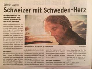 Bericht in der neusten Apero-Ausgabe der Luzerner Zeitung