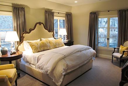 Modern - Traditional Bedroom