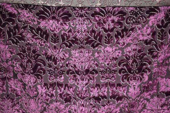 """JAB Anstoetz; #2866-182; Purple; 57.5"""" W & 29.5"""" V.R."""