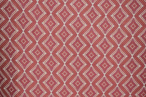"""Kravet; """"Kravet Design"""" #33201.712; Red; 56.25"""" W & 3.5"""" V.R."""