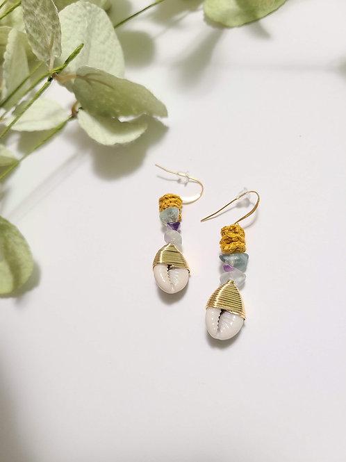 Healing Cowrie Earrings