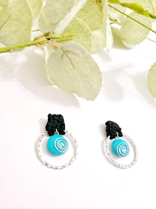 Turquoise Spirals