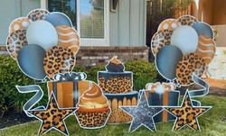 NEW! Leopard Birthday Swag!