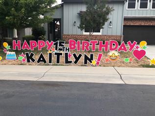 Happiest 15th Birthday!